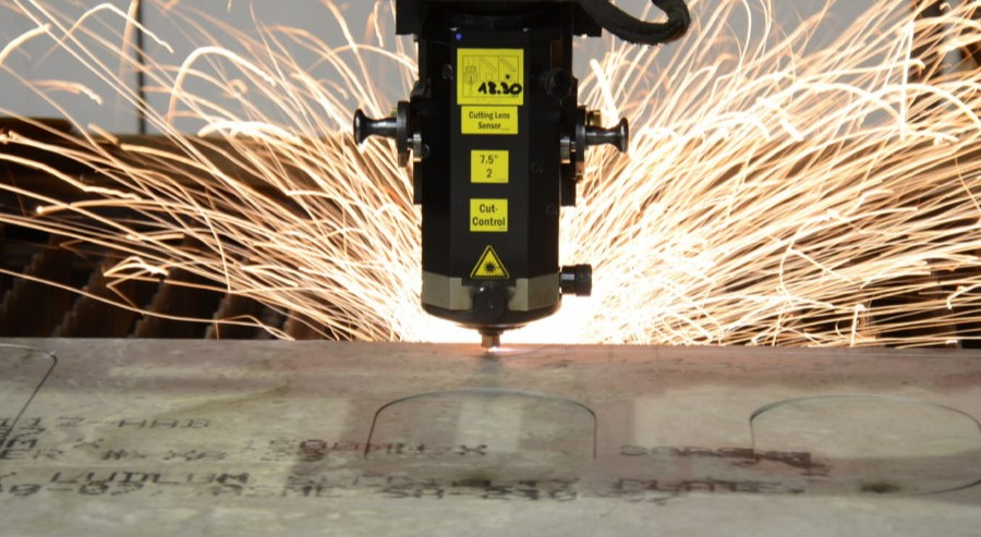 Laserskjæring i stål og syrefast