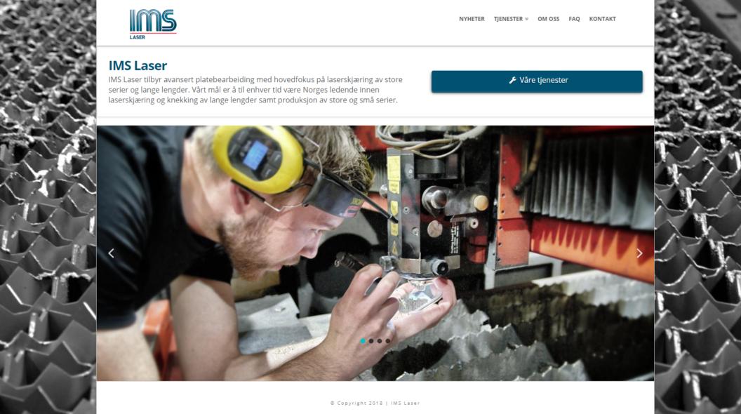 Ny hjemmeside!