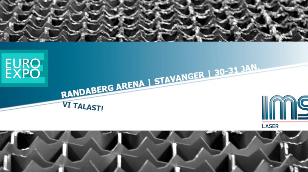 Vi er på Euroexpo i Stavanger