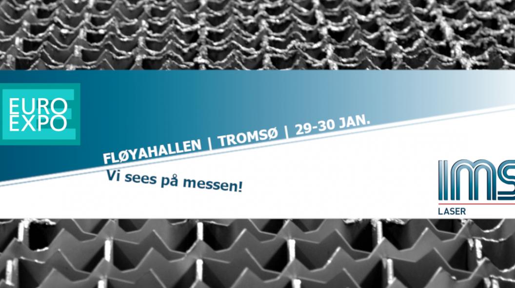 Vi er på Euroexpo i Tromsø